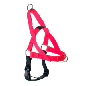 "Freedom Harness Pink, 1"" Wide, Large"