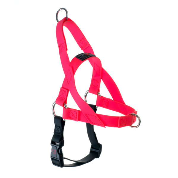 "Freedom Harness Pink, 3/4"" Wide, Medium"