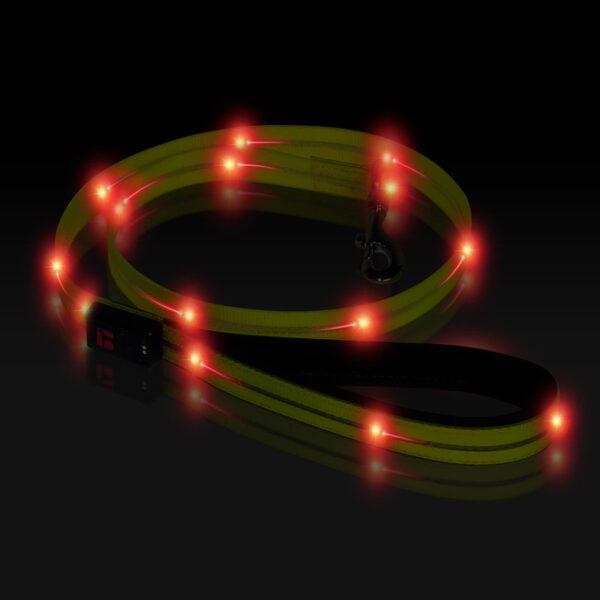 Boss LED Lead 6 foot Yellow, Night