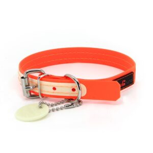 "Play Glow Orange, 3/4"" Wide, 12"" Long"