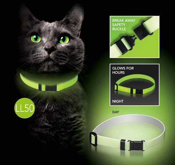 Lunalinx Glow Cat Collar